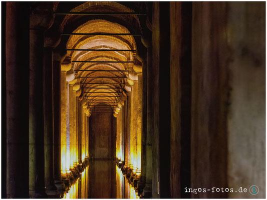 Cisterna Basilika, Istanbul