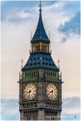 """Elizabeth Tower (ehemals """"Big Ben""""), London"""