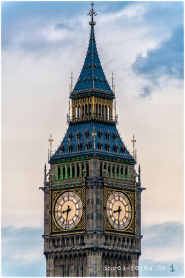 "Elizabeth Tower (ehemals ""Big Ben""), London"