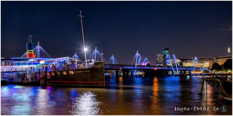 Golden Jubilee Bridges, London