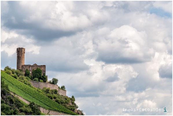Burg Ehrenfels, Rhein