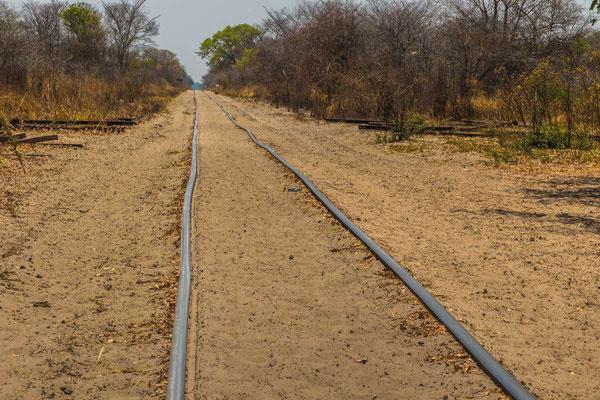 Matthias Gößmann: Bahnstrecke Mulobezi-Livinstone; Zambia