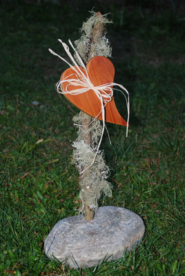 Ein dekorativer Gruß aus den Lungauer Wäldern.