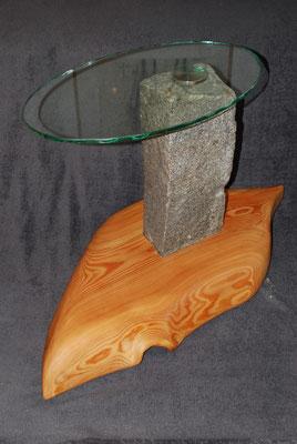 Holz, Stein und Glas zu einem Hingucker vereint!