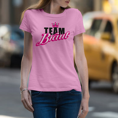 JGA Shirt Motiv Team Braut
