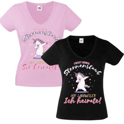 JGA Shirt – Sternenstaub Einhorn