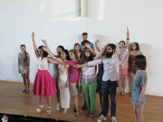 Deutsch lernen in Würzburg, Sprachkurs Gruppenpräsentation der internationalen Studierenden