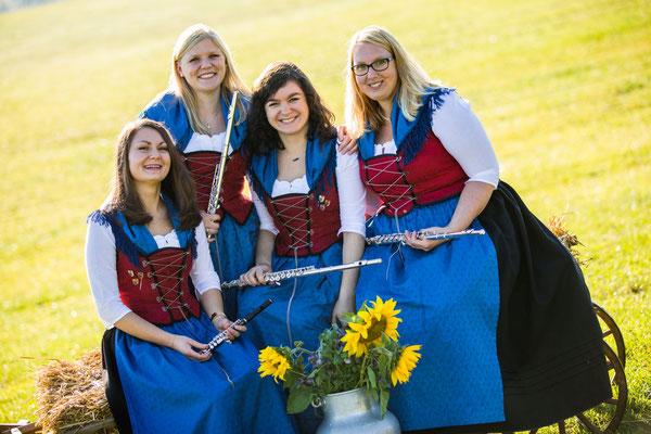 Flöte: Jenny Schmid, Carina Weigele, Eva Wohllaib, Eva Hofmann