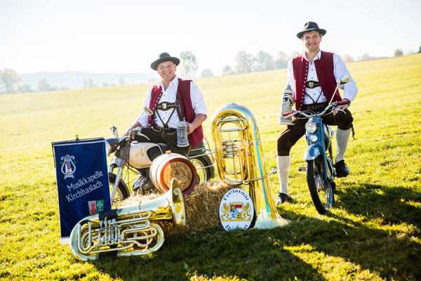 Tuba: Michael Zinsler, Anton Goßner