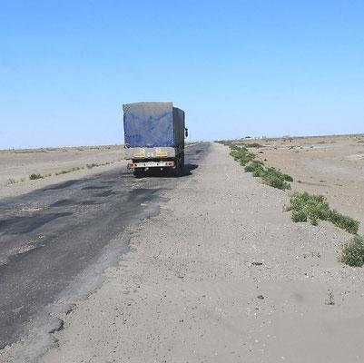 """hier gerade """"bad road"""" noch recht harmlos"""