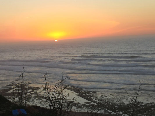 Sonnenuntergang noch gerade erwischt