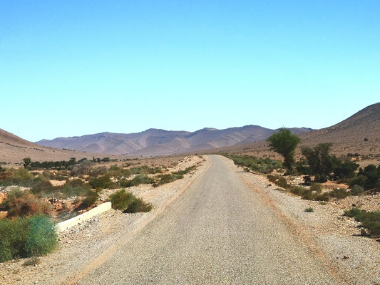 Auf dem Weg nach Amtoudi