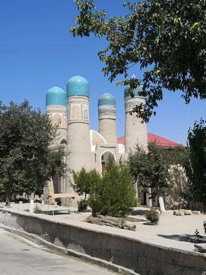 Vier-Iwan-Anlage, das Wahrzeichen von Buchera, Abdullah-Khan-Medrese