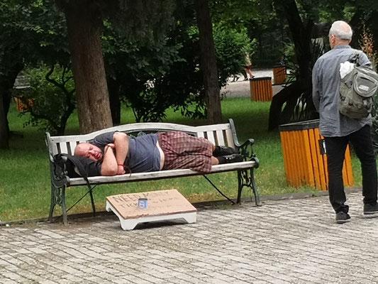 der verdient sein Geld im Schlaf