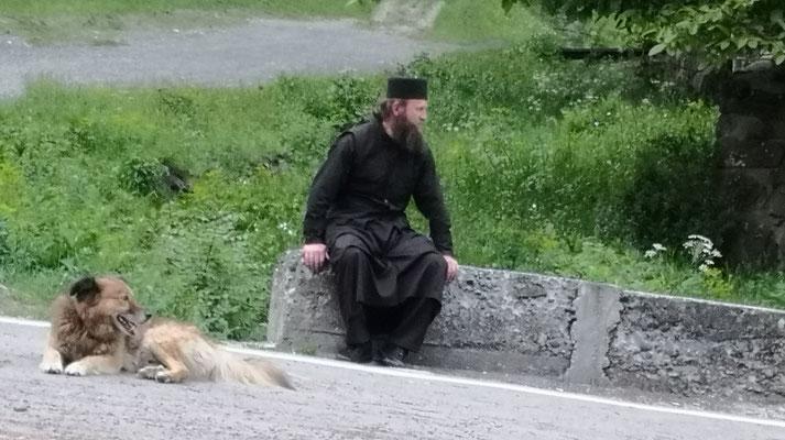.... unser tierlieber Klosterbruder von Timotesubani