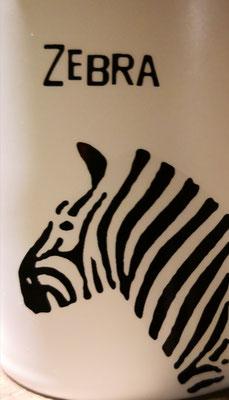 Das Zebra wird ungeduldig
