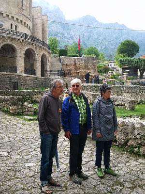 Burgbesichtigung in Krupa