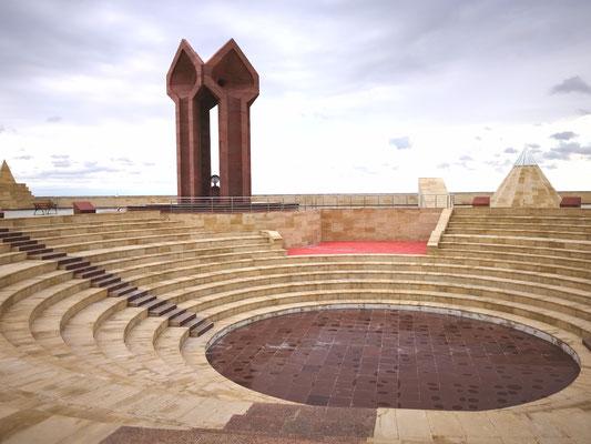Ein Amphitheater im Komplex