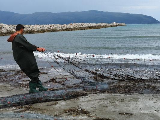 Heute leider keine Fische im Netz