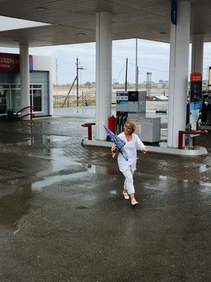 Wind und Regen, auch hier kein Diesel Euro 5