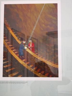 Gemälde des Sextanten