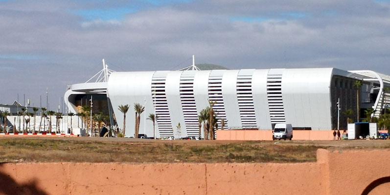 Das neue Flughafengebäude