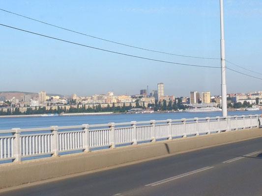 DieWolgabrücke in Saratov