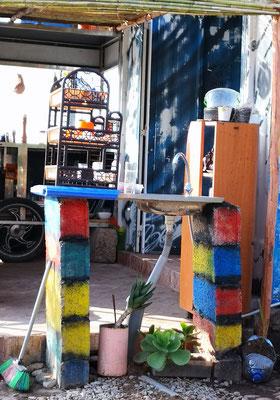 die kreativste Spüle Marokkos
