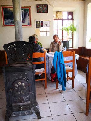 Mittagseinkehr in einer Taverne