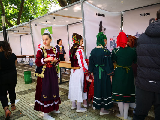 Verkleidung in traditionellen Trachten gehört dazu