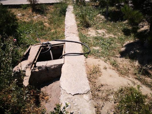 Diesel tanken in Samarkand, abenteuerlich