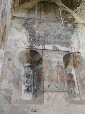 dieses Kloster hat die schönsten Fresken Georgiens, sagt man