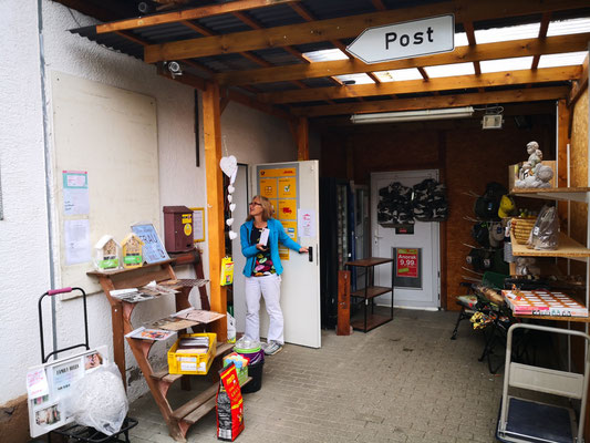 die Post in Treffern