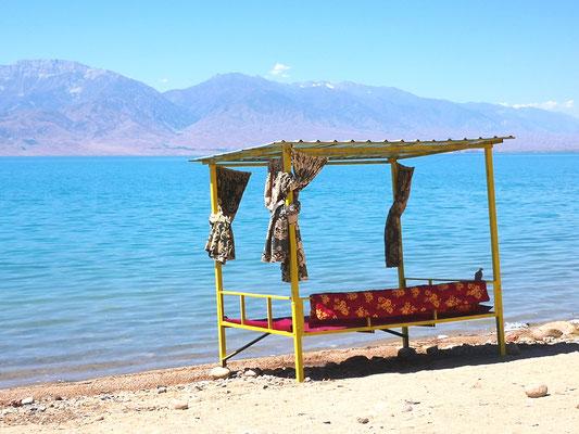 Strandkorb auf kirgisisch