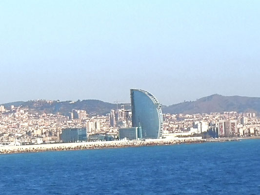 Hallo Europa, Barcelona wir kommen