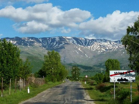 Zebragebirge (schon Griechenland
