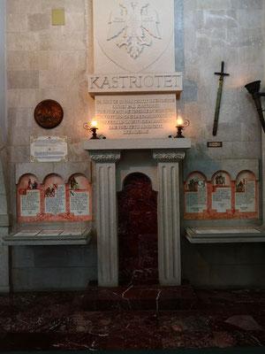 Der Fireplace von Skanderberg