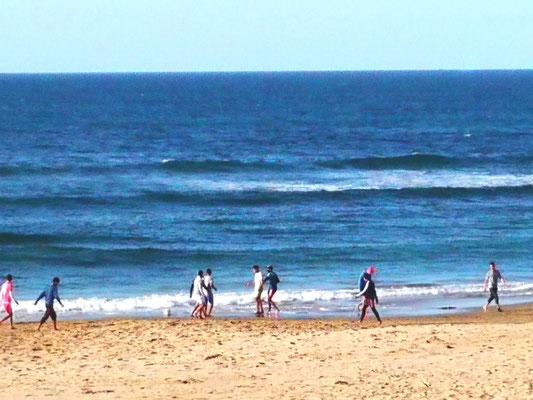 Fussball am Strand
