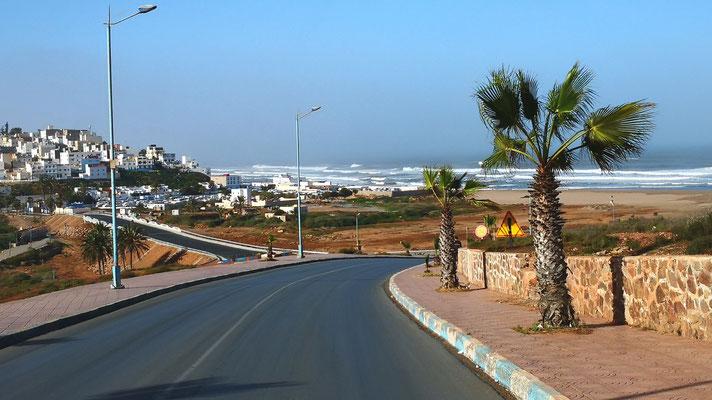 Einfahrt nach Sidi Info