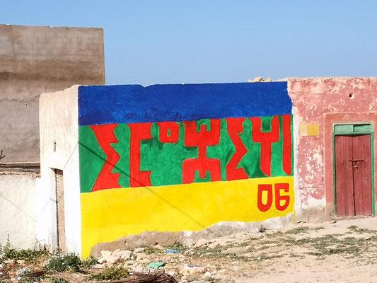 bunte Berberzeichen