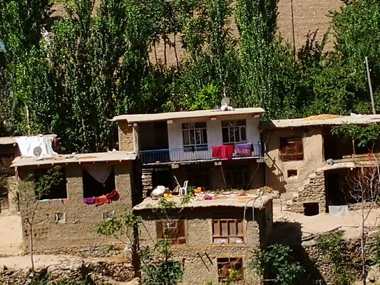 Afghanisches Dorf