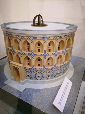 das Observatorium als Modell
