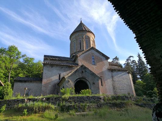 das Kloster in der Morgensonne