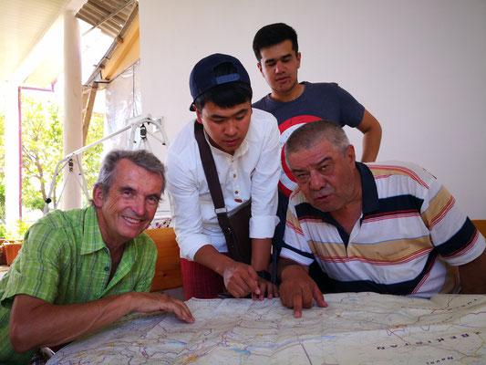 Uli und seine tolle Landkarte