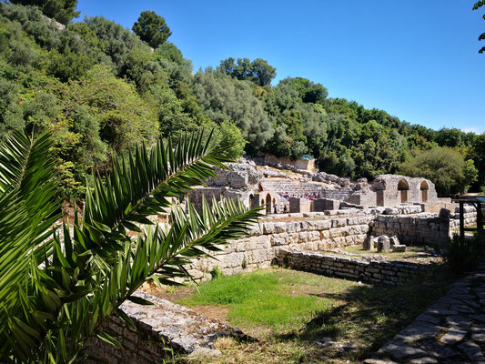 das Theater in Butrint