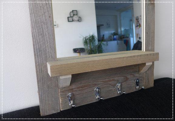 Steigerhouten Spiegel Trendhopper : Spiegel steigerhout luxe landelijke spiegel met lijst van