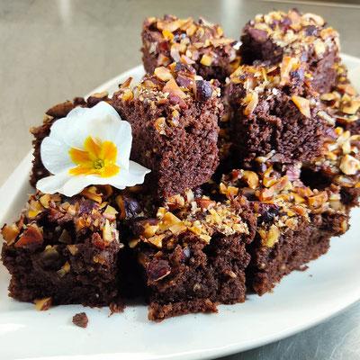 Schoko - Nuss - Brownie