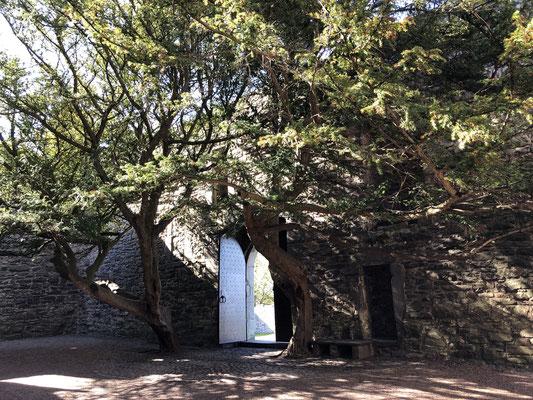 Innenhof Craigmillar Castle