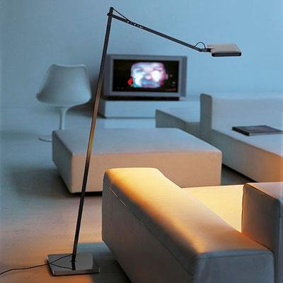 flos kelvin stehleuchte schwarz familie kelvin mini LED dimmbar