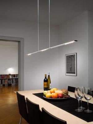 baltensweiler LET D 120 cm silber höhenverstellbar dimmbar kippbar LED L XL standart  abhänung